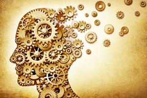 Психология - голова, состоящая из шестеренок
