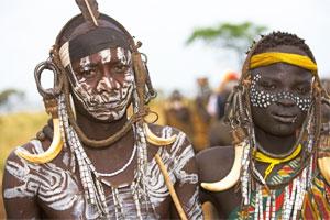 Представители африканского племени